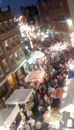 image of italian street festival in boston